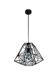 Qsgd dt-39 110v 220v подвесной светильник ретро железная форма подвесной светильник чердак подвесной светильник регулируемый светильник