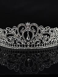 Rhinestone Alloy Headpiece-Wedding Special Occasion Party/ Evening Tiaras 1 Piece