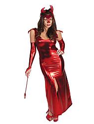 Une Pièce/Robes Costumes de Cosplay Bal Masqué Sorcier/Sorcière Ange et Diable Cosplay Fête / Célébration Déguisement d'HalloweenAutres