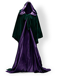 Coat Cosplay Costumes Cloak Witch Broom Halloween Props Party Costume Masquerade Super Heroes Bat Wizard/Witch Queen Ghost Zombie Vampire
