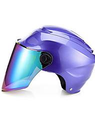 Medio Casco Moldeado al Cuerpo Compacto Respirante Media concha Mejor calidad Deportes Los cascos de motocicleta