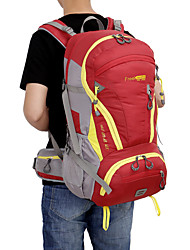 Unisex Sport & Freizeit Tasche Nylon Ganzjährig Camping & Wandern Rund Reißverschluss Grün Schwarz Dunkelblau Purpur Rot 40-50