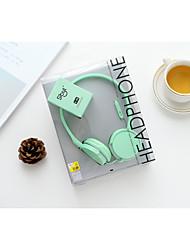 Sibyl x-45 macarons cartoon microfoon hoofdtelefoon koptelefoon voor telefoon en computer
