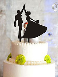 Украшения для торта Монограмма Свадьба Особые случаи Пластмассовая сумка