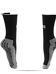 Simple Sport Socks / Athletic Socks Men's Socks All Seasons Anti-Slip Anti-Wear Tactel Soccer/Football
