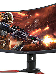 Acer curved gaming computer monitor 27 pouces 1800r va 144hz 4ms fhd 1920 * 1080 pc moniteur hdmi / dp / usb * 4