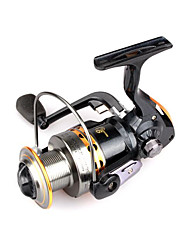 Reel Fishing Roulement Moulinet spinnerbaits 5.5:1 9 Roulements à billes EchangeablePêche d'eau douce Pêche au leurre Pêche générale
