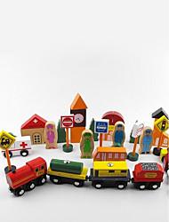 Pista de Corrida para presente Blocos de Construir Quadrada 3-6 anos de idade Brinquedos