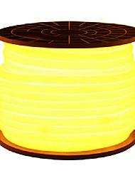 36W Faixas de Luzes LED Flexíveis 3350-3450 lm AC110 AC220 V 5 m 600 leds Vermelho Amarelo Verde