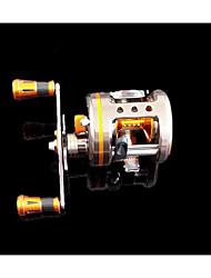 Reel Fishing Roulement Moulinet bait casting 5.3:1 9 Roulements à billes Droitier GaucherPêche en mer Pêche à la mouche Pêche d'eau douce
