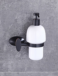 European Style Solid Brass Wall-mounted  Bathroom Accessories Soap Dispenser