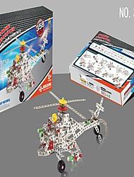 Puzzles en Métal Jouets Pour Adultes Jouets Pour cadeau Blocs de Construction Hélicoptère Fer Forgé PP (Polypropylène)6 ans et plus 8 à