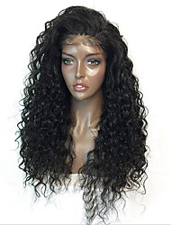 Synthetic Natural Wig Kinky Curly Black LWig for Women Costume Wig Capless Wig