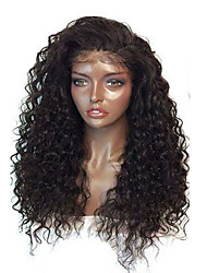 Water Wave For Black Women 8-26 Inch Glueless Lace Front Indian Human Hair Wigs With Baby Hair Cheap On Sale Comfortable Wearing