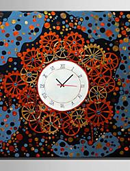 E-HOME® Gear Space Clock in Canvas 1pcs