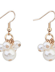 Drop Earrings Women's Euramerican Elegant Pearl for Daily Party  Gift Movie Jewelry