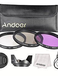 Andoer kit di filtro da 55 mm (uv cpl fld)