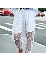 Mädchen Hose einfarbig Sommer