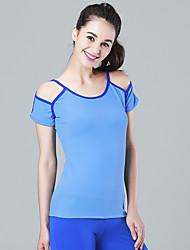 Course / Running Tee-shirt Shirt Débardeur Vêtements de sport Yoga Pilates Exercice & Fitness Sport de détente Course/RunningPolyester