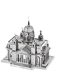 Puzzles Puzzles 3D Puzzles en Métal Blocs de Construction Jouets DIY  Rectangulaire Dome Aluminium