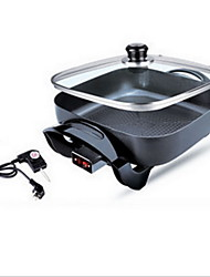 Korean Multi-functional Alloy Electric Square Pot