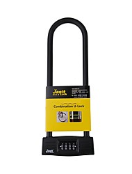 Jasit YF20708 Password Unlocked 4 Digit Password Bicycle Lock Dail Lock and Password Lock