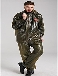 Motorcycle Body Raincoat Plastic Seaweed Thick Adult Motorcycle Raincoat Trousers Suit