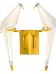 AC220 16 LED Integrado Tiffany Simple Tradicional/Clásico Campestre Dorado Característica for LED Mini Estilo Bombilla Incluida,Luz