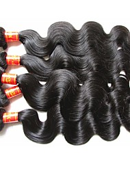 wholesale top grade quality malaysian human hair body wave 5bundles 500g lot 100% original virgin hair material made natural black color