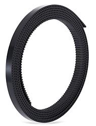 Anet 1.7m ширина pu синхронный открытый ремень стальной провод открытый ремень 2gt-6mm 3d приводной ремень привода