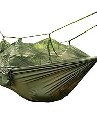 Hamaca para camping con red antimosquitos Plegable Utra ligero (UL) Nylón para Camping Camping / Senderismo / Cuevas Al Aire Libre