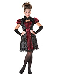 Cosplay Costumes Masquerade Vampire Cosplay Festival/Holiday Halloween Costumes Vintage Others Dresses Halloween Carnival Kids Girls'