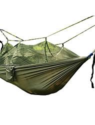 Hamaca para camping con red antimosquitos Transpirable Plegable Utra ligero (UL) Nylón para Camping Camping / Senderismo / Cuevas Al Aire