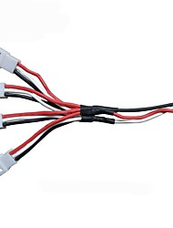 Global Drone  7.4V 1 Converting 3 or 4 Lipo Battery Charger Plug Multi Cable for GW180 Quadcopter Spare Parts