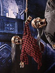Halloween Decorations Long Hair Ghosts Electric Toys Haunted Houses Arranged Horror