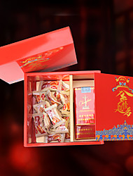 1 Favor Holder-Cuboid Card Paper Pearl Paper Favor Boxes Favor Bags Gift Boxes