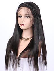 High Quality Virgin Brazilian Human Hair 10-26 Inch 130% Density Silky Straight 5x4.5 Silk Base Full Lace Wig Pre Plucked Hairline Silk Base Wig