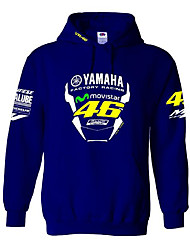 Motorcycle Sweater Racing Team Racing Rossi VR 46 Hooded Sweater Cotton Casual