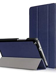 Крышка корпуса pu для huawei mediapad m3 lite 8,0 дюйма cpn-w09 cpn-al00 с защитой экрана