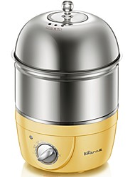 Bear ZDQ-2153Egg Cooker Single Eggboilers Multifunction Light and Convenient Low Noise Power light indicator Detachable Timing Function Upright Design