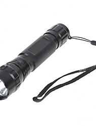 Linternas LED LED 480 Lumens 5 Modo Cree Q3 No incluye baterías para Camping/Senderismo/Cuevas De Uso Diario Ciclismo Caza