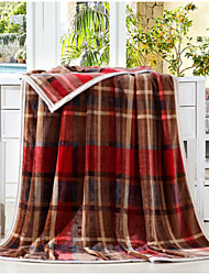 Pluche Treillis Coton couvertures