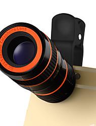 Линкой lq-803 объектив мобильного телефона 0.4x широкий угол 180 глаз рыбы 10x макрос 8x телеобъектив внешний объектив