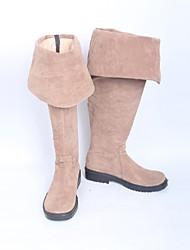 Обувь для косплэй Сапоги для косплея Косплей Косплей Аниме Обувь для косплэй Кожа Искусственная кожа/Полиуретановая кожа Полиуретановая