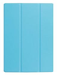 Сплошной цветной узор pu кожаный чехол с подставкой для huawei mediapad m3 lite 10.0 m310