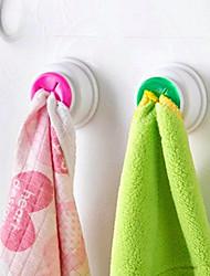 2pc lave-linge clip suspension porte-ventouse plate-forme étagère de rangement salle de bain cuisine rangement porte-mains crochet aléatoire