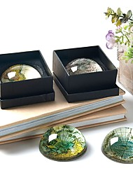 Diy ornements d'automobile carte de pays décoration de bureau de cristal pendentif créatif de voiture&Ornements