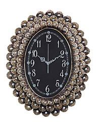 Модерн Традиционный Деревенский Повседневный Ретро Животные Настенные часы,Овал Резина В помещении Часы