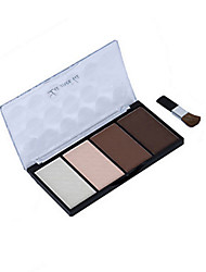 1Pcs Brand New Waterproof Bronzers Powder  Highlighters  Eyebrow Powder Pigment Glitter Shining Eye Shadow Palette