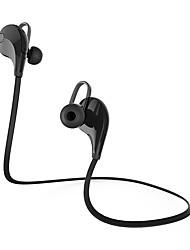 Cwxuan Q7 EARBUD Bande de cou Sans Fil Ecouteurs Piézoélectricité Téléphone portable ÉcouteurAvec Microphone Avec contrôle du volume LA
